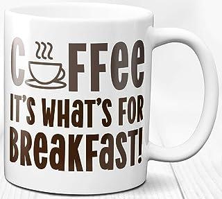 Taza de los amantes del café Taza de cerámica del desayuno 330 ml Regalo de la cotización del desayuno