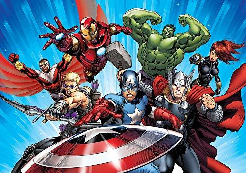 7b3c9388999 Marvel Avengers Assemble 2 Comic Wallpaper Mural - LaniCatledge64347
