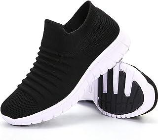 ZOVE Walking Shoes Women Sock Tennis Work Sneakers-Comfort Lightweight Ladies Everyday Slip On Loafers
