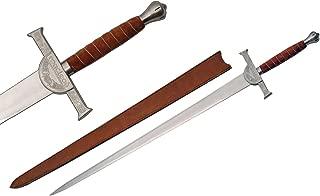 SZCO Supplies Whetstone Cutlery 50 Inch Macleod Clan Broadsword Sword