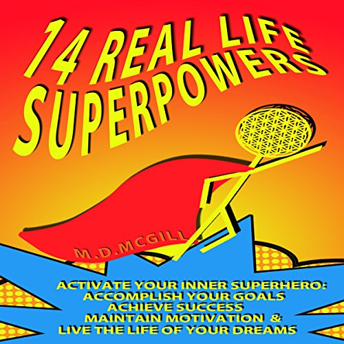 14 Real Life Superpowers audiobook cover art