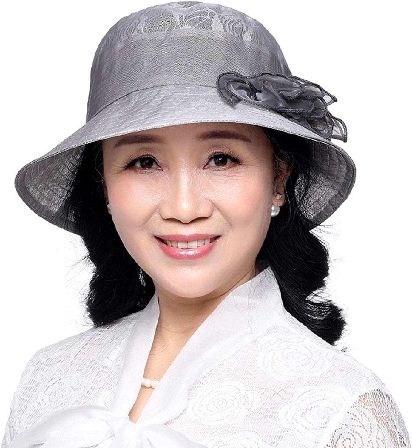 I want to fly freely Summer Hat, Sun Hat Old Women Aged Ladies Mother Cap AntiUV Summer Sunscreen Foldable Breathable Absorbent, 5 colors Optional Summer Sun hat