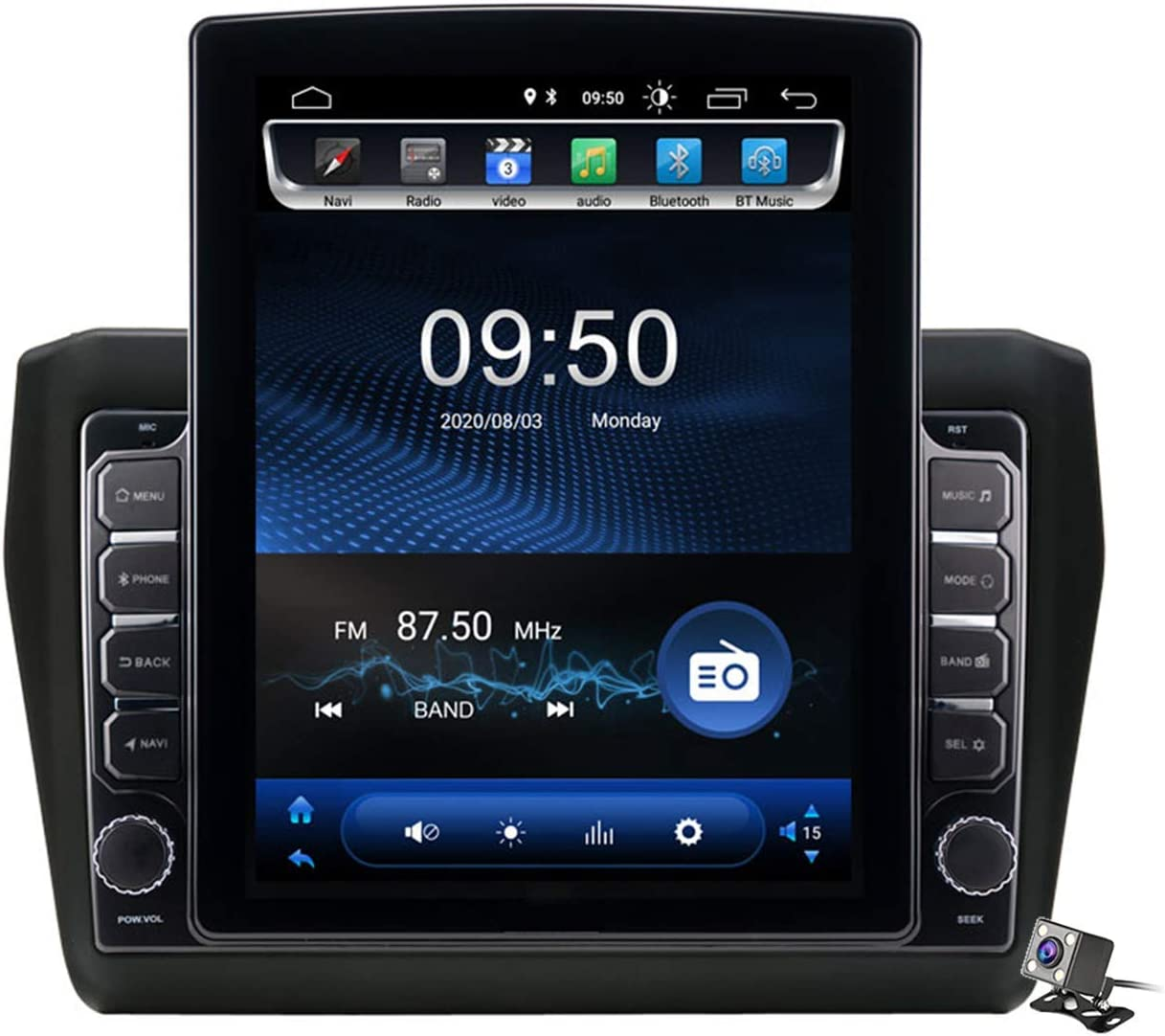 Car Stereo Android 9.0 Japan's largest assortment Radio for 2017-2020 Suzuki Online limited product Swift GPS Navi