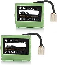 Powerextra 7.2V 5000mAh Battery Compatible with Neato XV-11 XV-12 XV-14 XV-15 XV-21 XV-25, XV Essential, XV Signature Pro Robotic Vacuum Cleaners Replacement Neato Battery 945-0005 205-0001 ( 2 Pack )