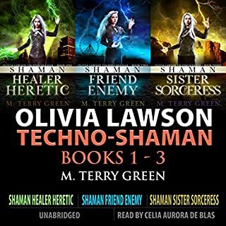 Olivia Lawson Techno-Shaman Series audiobook cover art