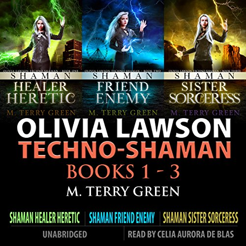 Olivia Lawson Techno-Shaman Series cover art