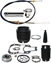 GLM Transom service kit with shift cable compatible with Mercruiser - Alpha One Gen II | GLM Part Number: 21960; Sierra 18-8206; Mercury 30-803099T1