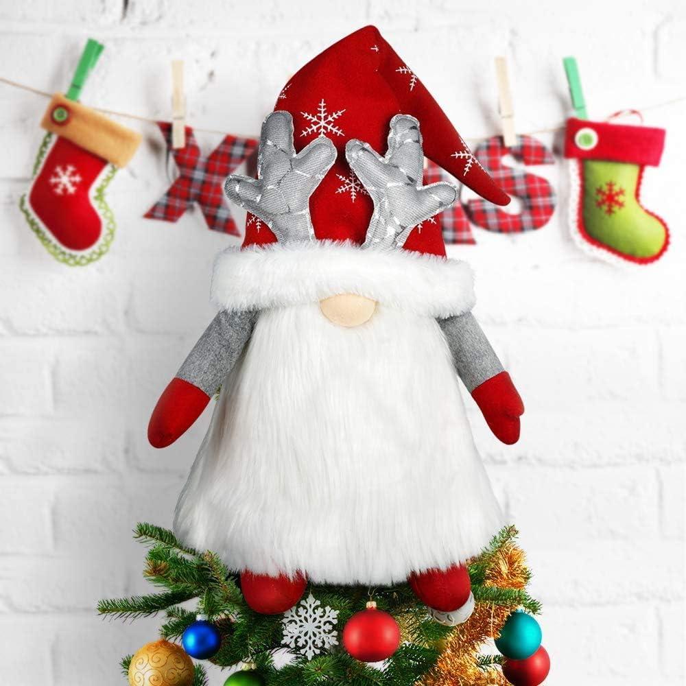 Gnome Christmas Tree Topper Now free shipping Swedi Large Ranking TOP8 Santa