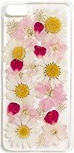 iPhone XR ケース ソフト TPU スリム 生花 ハンドメイド かわいい 薄型 ストラップホール Qi対応 カバー ピンク ピンクフラワーズ 「 Oshibana 押し花 」 iPhoneXR,ピンクフラワーズ