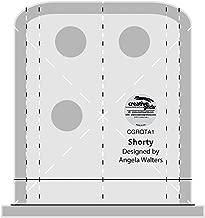 Creative Grids Machine Quilting Tool Ruler Template - Shorty CGRQTA1