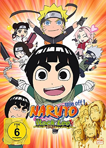 Rock Lee & seine Ninja Kumpels - Vol.1 (Episoden 1-13) (Sammelschuber) (3 DVDs)