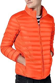 Men's Down Jacket Warm Handsome Youth Cozy Lightweight Outwear Coat