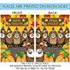 Toland Home Garden Turkey Photobomb 28 x 40 Inch Decorative Funny Happy Thanksgiving Bird House Flag #4