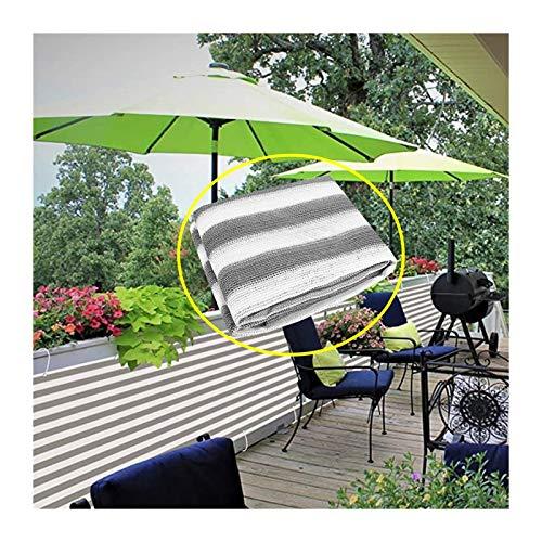 XJJUN Cubierta De Pantalla De Privacidad para Balcón, Protección UV, Resistencia A La Intemperie, 80% De Protección UV, con Ojal, para Porche, Exterior, Patio, Terraza (Color : Gray, Size : 4x5m)