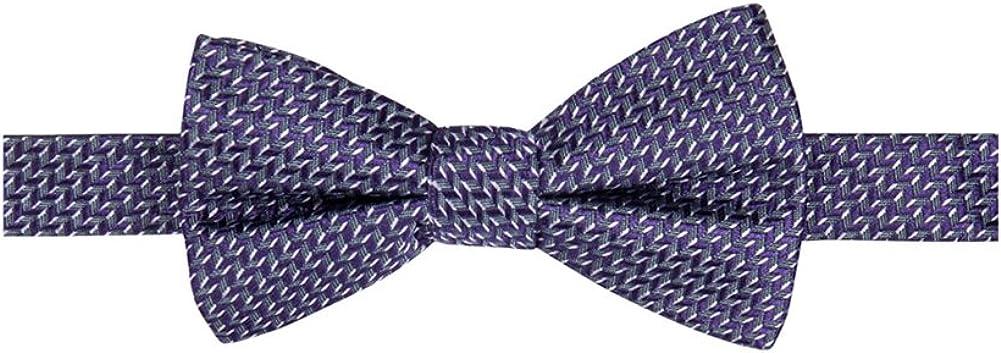 Ryan Seacrest Mens Beverly Neat Self-tied Bow Tie, Purple, Short (under 57 in.)