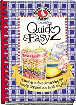 Plastic Comb Country Quick & Easy 2 Cookbook (Everyday Cookbook Collection) Book