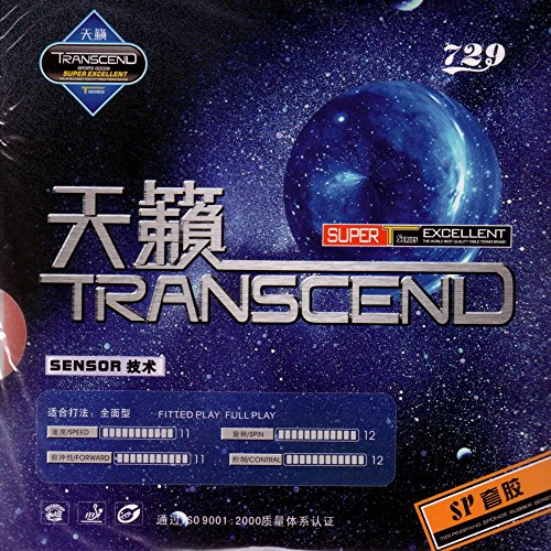Friendship 729 SP (2,2 mm - schwarz) - China Tischtennis Belag/ITTF/TT-Spezial – Schütt Tischtennis