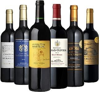 高評価ボルドー6本セット ワンランク上の熟成ボルドー2本入り 金賞 当たり年 2006年 赤 辛口 フランス ワイン 飲み比べ ワインセット 赤ワインセット ギフト 長S(6本セット)