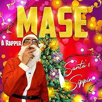 Santa's Sippin'