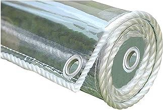 PVC Clear Window Film Tarpaulin, Transparant Clear UV-bestendige Tuin Plant Cover, Canopy Waterdicht Regengordijn, Glas Cl...
