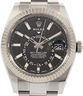 Sky-Dweller Mechanical (Automatic) Black Dial Mens Watch 326934 (Certified Pre-Owned)