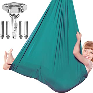Dadoudou Sensory Swing Indoor, Swing Hammock Chair for Kids with Special Needs, Autism, ADHD, SPD, Aspergers, Sensory Inte...