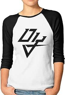 Yearzimn Women Humor Daddy Yankee Logo6 Logo Gift 3/4 Sleeve Raglan Baseball Shirts