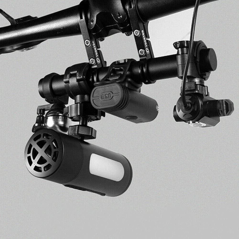 Titular De Montaje De Extensi/ón Soporte Marco Soporte De Doble V/ástago XQK Mango Manillar De La Bici De La Bicicleta De Monta/ña Extender Barra De Soporte Extensor