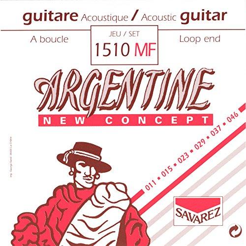 Savarez 668737 - Cuerdas Guitarra Acústica Argentine