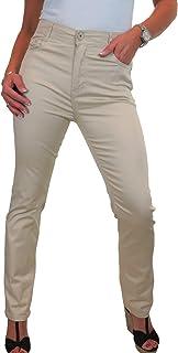 ICE Jeans per Donna, Vita Alta, Tessuto con Lucentezza 42-56