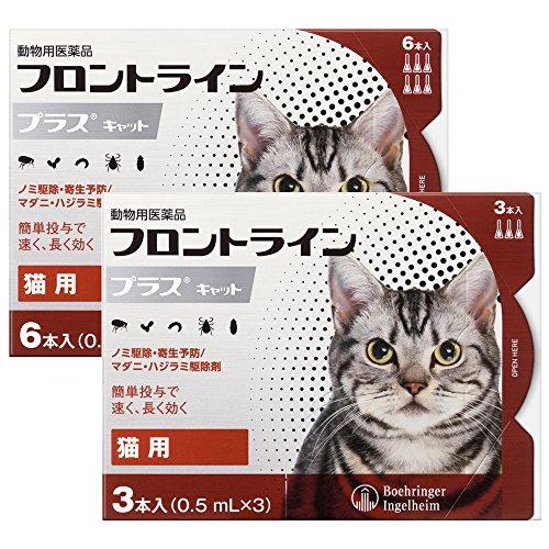 猫用フロントラインプラスキャット 9本(9ピペット)【動物用医薬品】