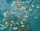 Flor de Albaricoque Abstracto Van Gogh - Madera Puzzle 1500 Piezas Adultos Ocio DIY Toys Decoracion