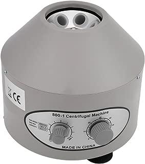 Centr/ífuga de laboratorio con temporizador de 0-60 minutos y control de velocidad TOPQSC M/áquina centr/ífuga profesional de centr/ífuga el/éctrica 4000 rpm de baja velocidad 6 tubos x 20 ml