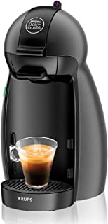 Krups KP100B Cafetera Dolce Gusto cápsulas, monodosis, 15 bares presión, cafés, cappuccino, multibebida, 1500 W, 0.6 litro...