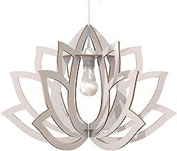 Lampadario Design Fiore di loto Lampada Soffitto Pendente Arredamento Meditazione