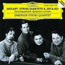Mozart String Quartets K.387 421