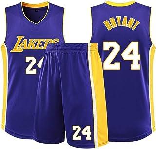 MMK Kobe Bryant # 24 Basketball Trikot Herren Trikots Retro Sportkleidung Sport Weste