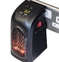 WYYZSS Mini Heater Estufa Eléctrica Portatil 400 W con Termostato, Mini Estufa Eléctrica Calefactor Portátil Instant Heater con Termostato Ajustable