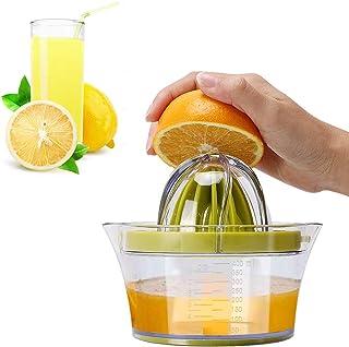 IZSUZEE Exprimidor Zumo Manual, Exprimidor Naranjas Profesional de Plástico 4 en 1, Esprimidores Exprimidora de Zumo Limon...
