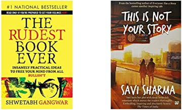 The Rudest Book Ever + This Is Not Your Story (Set of 2 Books)