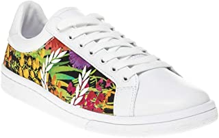 Fred Perry Liberty Print Womens Sneakers White