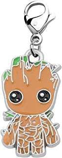 LQRI Guardians of The Galaxy Jewelry Guardians of The Galaxy Inspired Gift Groot Charm Zipper Pull Marvel Fans Gift