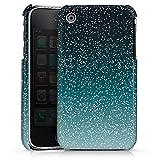 Coque Compatible avec Apple iPhone 3Gs Étui Housse Paillettes Bling-Bling Motif