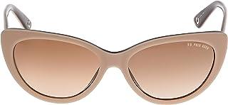 U.S. Polo. Assn. Cat Eye Women's Sunglasses, USPA744BEIGE - 57-16 -140 mm