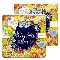 【まとめ買い】ソフィ Kiyora イランイラン&シトラス 72コ入×2個パック(unicharm Sofy)
