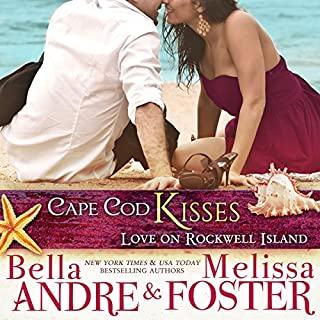Cape Cod Kisses: Love on Rockwell Island audiobook cover art