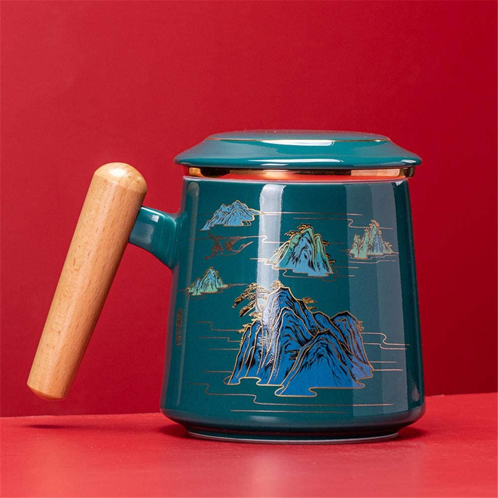 Mug With Lid Tea Water Separation Offi Max 87% OFF Ranking TOP13 And Meeting Men Cup Women