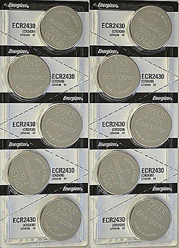 1 X 10x Energizer CR2430 (ECR2430BP) Lithium Coin 3v Button Cell battery