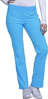 iflex Women's Mid Rise Straight Leg Pull-On Scrub Pant