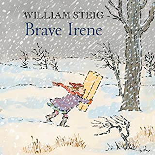Brave Irene audiobook cover art